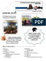 Newsletter October 19