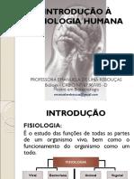 Introdução a Fisiologia Humana