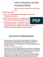 Globalization – Developed and the Developing World