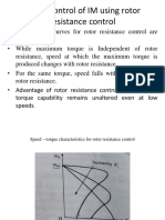 Speed Control of IM Using Rotor Resistance Control
