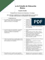 Competencias e Indicadores de Evaluacionciencias 4c2b0 Grado