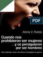 RUBIO, Alicia - Cuando Nos Prohibieron Ser Mujeres [2ed]
