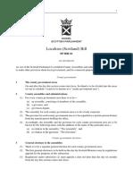 SPB061 - Localism (Scotland) Bill 2018