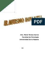 El Autismo Infantil - María Teresa García