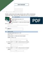 LKPD Trigonometri (Sudut Rangkap)