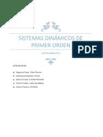 Sistemas Dinámicos De Control de Primer Orden