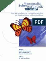 Monografia Da Disfunção Tiroidea Da Universidade de Granada