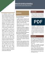 FORMACIÓN DE METALOTIONEÍNAS