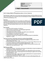 science 10 biology unit assessment plan