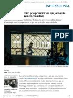 Arábia Saudita Admite, Pela Primeira Vez, Que Jornalista Desaparecido Morreu Em Consulado _ Internacional _ EL PAÍS Brasil