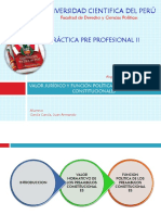 Valor Juridico y Funcion Politica de Los Preambulos Constitucionales
