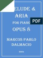 Prelude & Aria for Piano