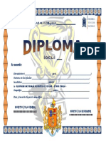 Atletism - Diplomă Onss - 2013