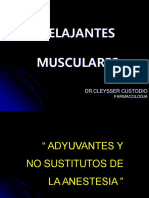 Clase Relajantes Musculares