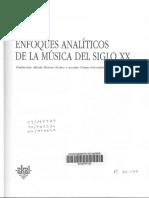 Joel Lester - Enfoques Analíticos de La Música Del Siglo XX