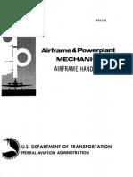 AIRFRAME- Airframe and Powerplant Handbook