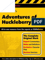 Adventures of Huckleberry Finn (Cliffs Complete) (Hungry Minds 2001, 267)