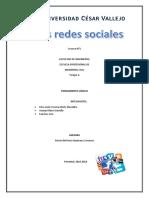 Las Redes Sociales Avance