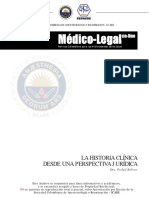 Historia Clinica Implicacion Legal