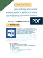 Procesador de Texto(Trabajo)