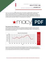 Macys Intrinsic Value