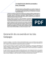 El Estado Ecuatoriano y La Violación de Los