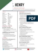 Resume for ProPublica