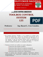 Toolbox LTI ControlA