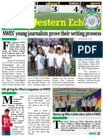 School paper of Nagbacalan West Elementary School