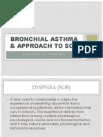 Bronchial Asthma 2016