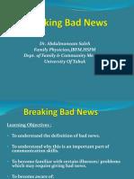 Breaking Bad News 11