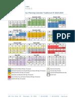 sixth grade mathematics planning calendar traditional sy 2018