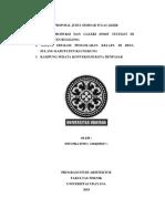 Proposal Seminar Dwi Pratiwi 1504205017