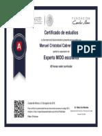 Experto en Medicion Integrada en La Deteccion Oportuna Escolar