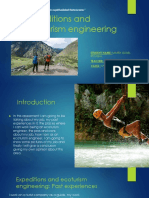 Expeditions and Ecoturism Engineering