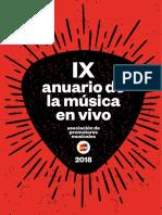 Anuario de la Música en Vivo