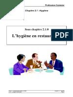 210 _Hygiene en Restauration