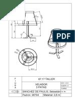 Velador x3 - Taller