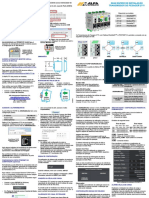 0083MN - Guia Rápido de Instalação Transmissor de Pesagem 2711
