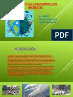 Web Quest de Contaminacion Ambiental