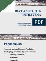 Obat Anestetik Intravena 2