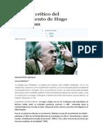 Análisis Crítico Del Pensamiento de Hugo Zemelman