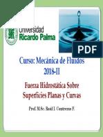 Cap N° 03-Fuerzas Hidrostáticas en Superficies Planas y Curvas (2)