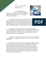 Edición genética/ tercer periodo