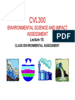 2015 Cvl300 Presentation 15 Class Environmenal Assessment