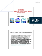 2015 CVL300 Presentation 5 - Water Pollution