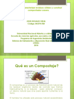 Caracterizar Residuos Sólidos y Construir Compostador Casero