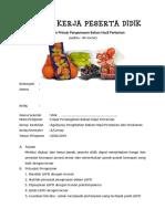 LKPD (PeerTeaching) Pengemasan Bahan Hasil Pertanian