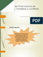 Clase Tema 1 Manejo Postcosecha de Frutas Hortalizas y Confitería