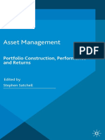 Asset Management - Portfolio Construction, Performance and Returns
